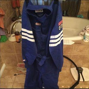 MEN'S NWOT Race car fire resistant suit in XL
